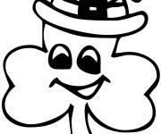 Coloring pages St. Patrick's Day vector