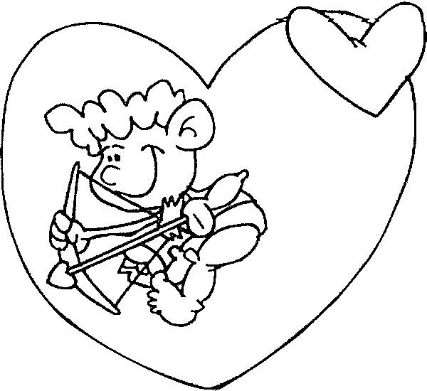 Free coloring and drawings Child looking for lovers Coloring page