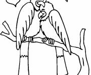 Coloring pages Couple of Birds in Love