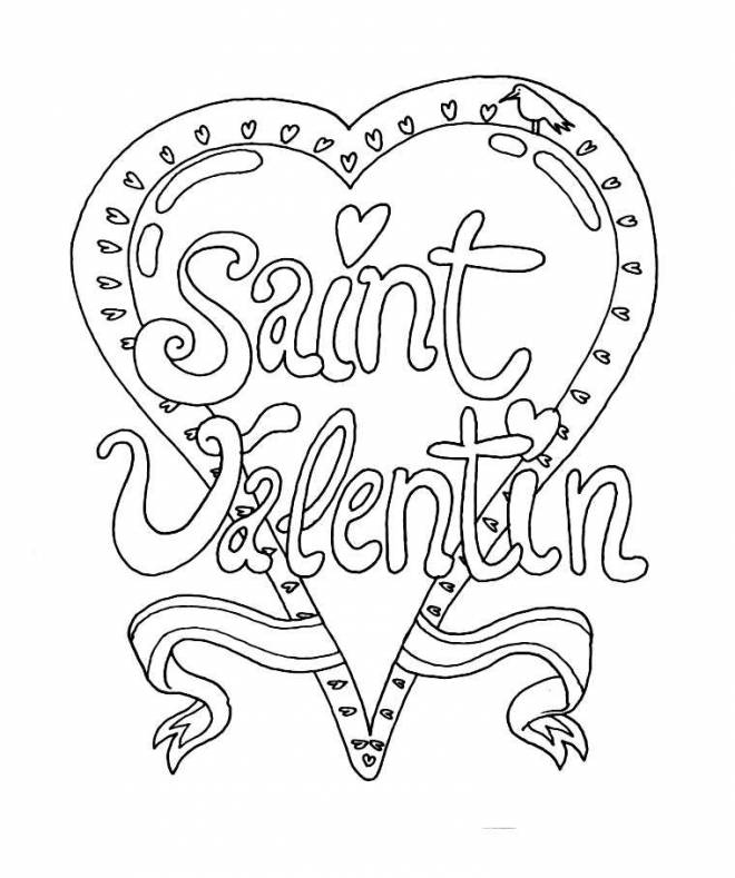 Free coloring and drawings Easy Valentine Mandala Coloring page
