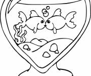 Coloring pages Loving Fish