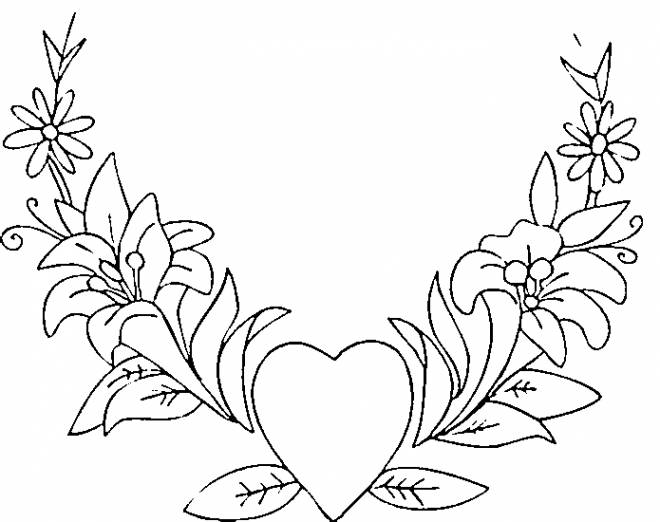 Free coloring and drawings Super Valentine Heart Coloring page