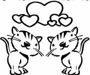 Free coloring and drawings Valentine's Day coloring Coloring page