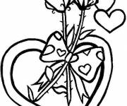 Free coloring and drawings Valentine's Day Love Coloring page