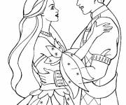 Free coloring and drawings Maternal marriage Coloring page