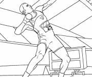 Free coloring and drawings Weight launch Coloring page