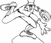 Coloring pages Baseball Launcher