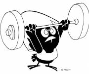 Coloring pages bodybuilding