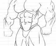 Coloring pages Maternal bodybuilding