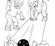 Coloring pages Bowling