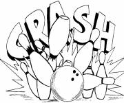 Coloring pages Color bowling