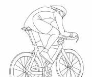 Coloring pages Room cycling to decorate