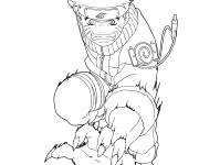 Coloring pages Combat Dragon Ball Z