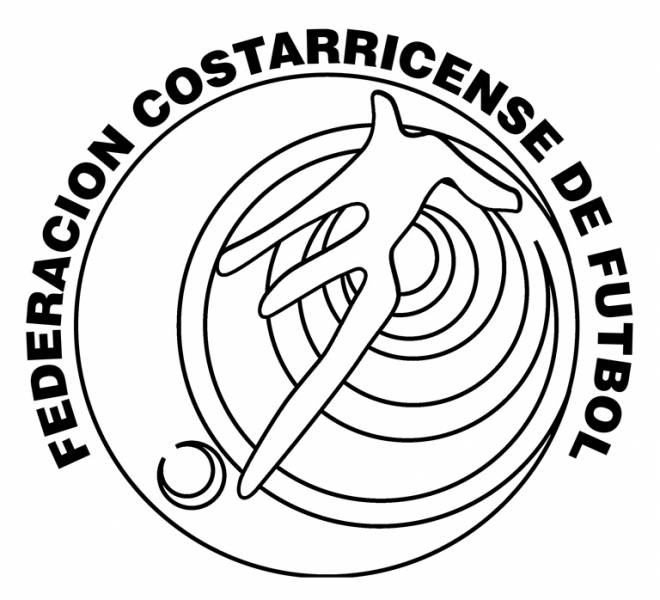 Free coloring and drawings Costa Rica soccer team Coloring page