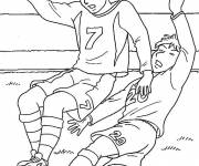 Coloring pages Maternal football