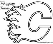 Coloring pages Canadian Hockey