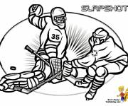 Coloring pages Ice Hockey Coloring