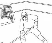 Coloring pages Maternal ice hockey