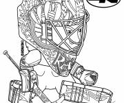 Coloring pages NHL Ice Hockey
