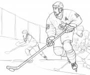 Coloring pages Pencil Ice Hockey Match