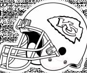 Coloring pages NFL and excitment
