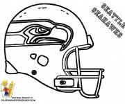 Coloring pages NFL easy drawing
