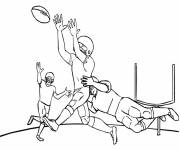 Coloring pages NFL equipment