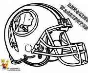 Coloring pages NFL in pencil