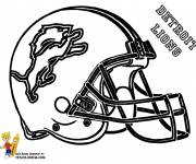 Coloring pages NFL league for free