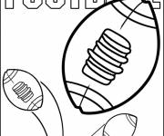 Coloring pages NFL online drawing