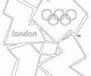 Coloring pages London Olympic Games