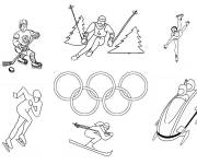 Coloring pages Olympic