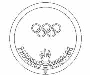 Coloring pages Olympic logo