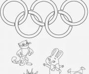 Coloring pages Sochi Olympic Games