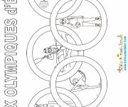 Coloring pages Summer olympic games