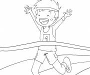 Coloring pages Run