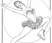 Coloring pages Figure skating