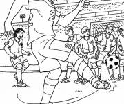 Coloring pages Direct Free Kick