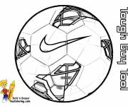 Coloring pages Soccer Ball Mark
