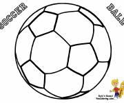 Coloring pages Soccer ball to color