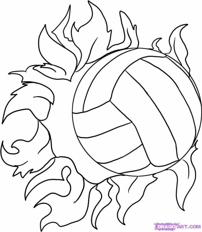 Free coloring and drawings A balloon on fire Coloring page