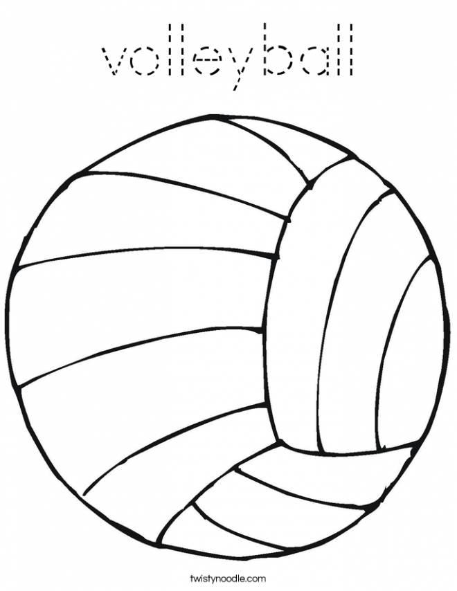 Free printable Volleyball coloring pages liste 20 à 40