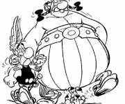 Coloring pages Asterix