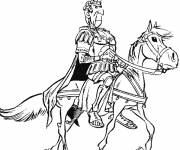 Coloring pages The roman emperor