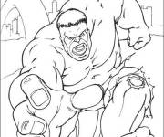 Coloring pages Avengers Hulk Film