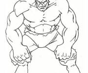 Coloring pages Avengers Hulk with Edgy Look