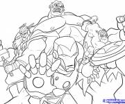 Coloring pages Avengers Online