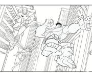 Coloring pages Maternal avengers hulk