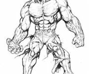 Coloring pages Stylized hulk