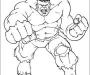 Coloring pages the Incredible Hulk